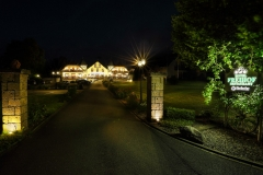 Hotel Freihof bei Nacht